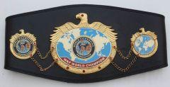 All WKF Champion belts