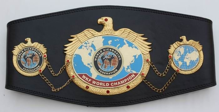 WKF World title belt