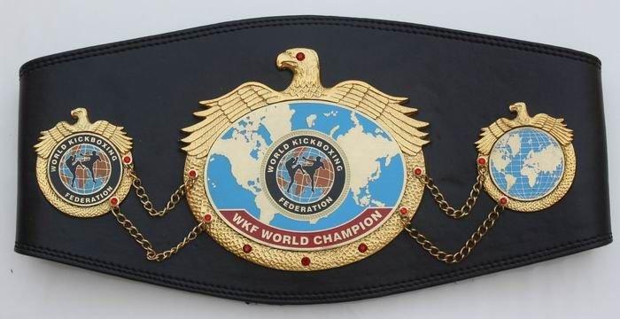 WKF World title belt